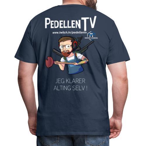 pedellentv - Herre premium T-shirt