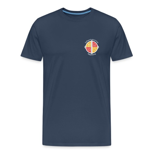 SWK Magdeburg weiß - Männer Premium T-Shirt