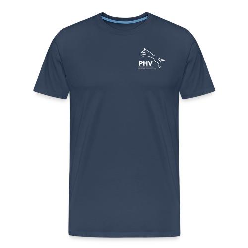 Logo PHV final weiss png - Männer Premium T-Shirt
