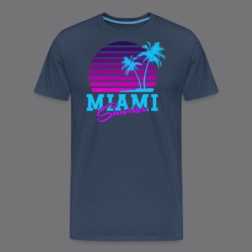 MIAMI SUNRISE t-shirts - Men's Premium T-Shirt