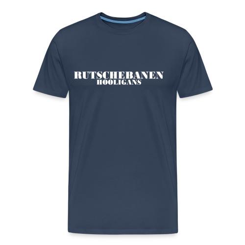 Rutschebanen Hooligangs l - Herre premium T-shirt