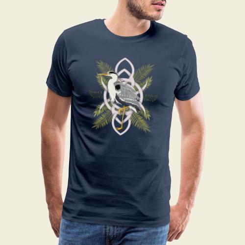 Reiher - Männer Premium T-Shirt