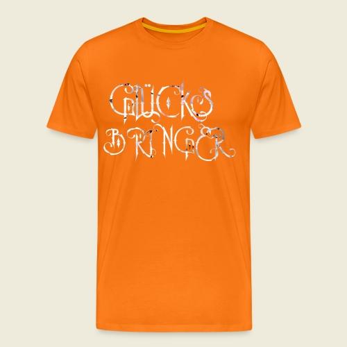 Glücksbringer für viel Glück im Leben - Männer Premium T-Shirt