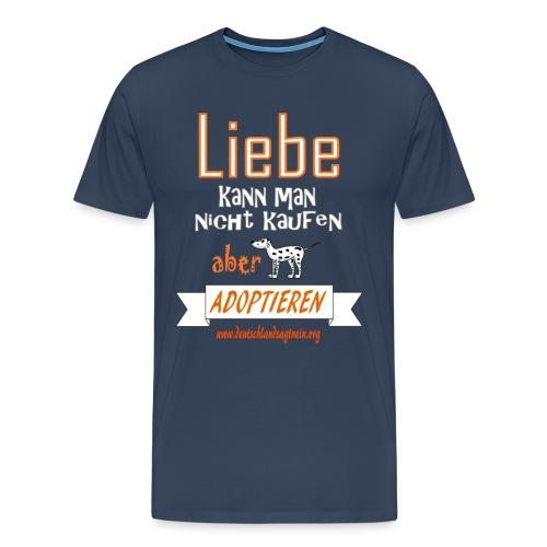Liebe kann man nicht kaufen - Männer Premium T-Shirt