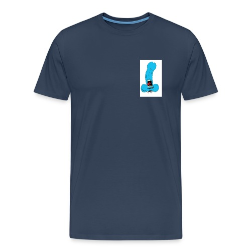 screaming hands friend - Men's Premium T-Shirt