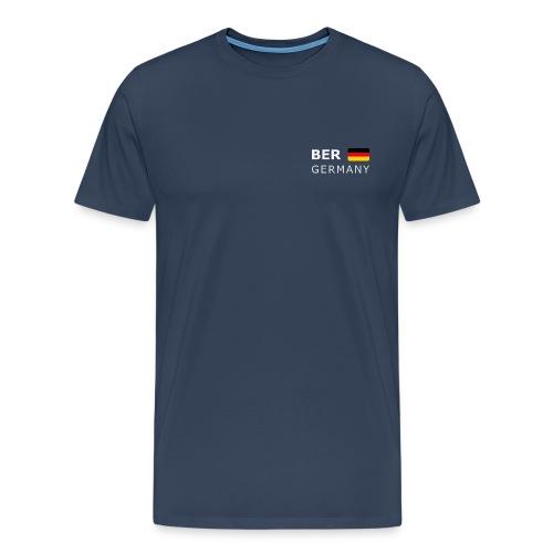 BER GERMANY GF white-lettered 400 dpi - Men's Premium T-Shirt