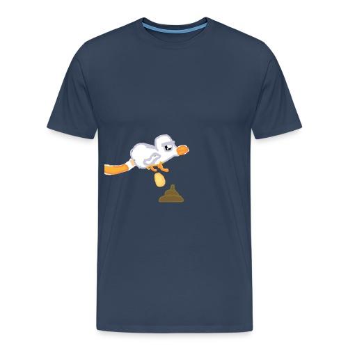 chickenattack png - Men's Premium T-Shirt
