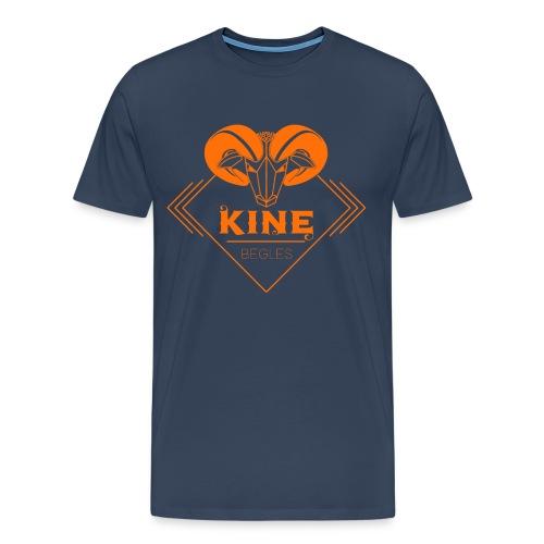 t shirt homme nl orange bordeaux - T-shirt Premium Homme