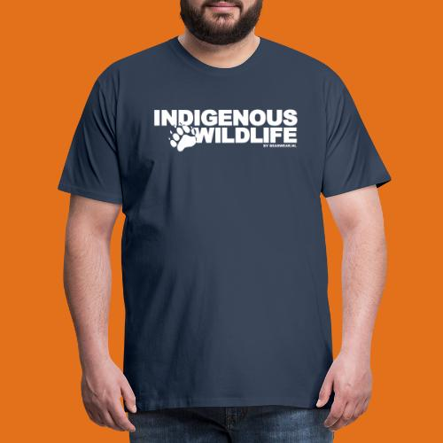 indigenous wildlife new - Men's Premium T-Shirt