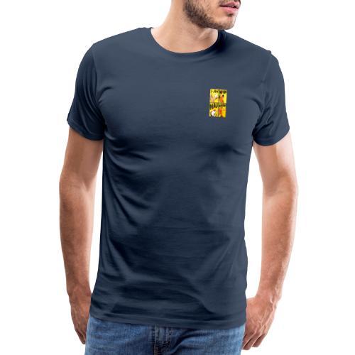 Die Bremer Stadtmusikanten. Retro-Comic - Männer Premium T-Shirt