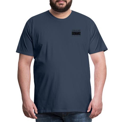 Straight Outta Quarantaine - Männer Premium T-Shirt
