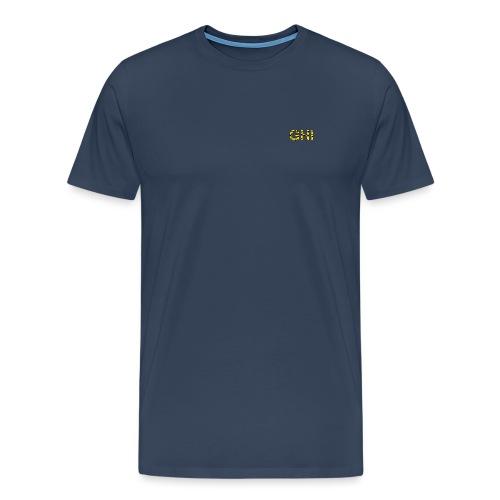 Logo Ghemba oro - Maglietta Premium da uomo