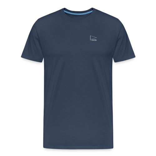 KYCK - element navy - Männer Premium T-Shirt