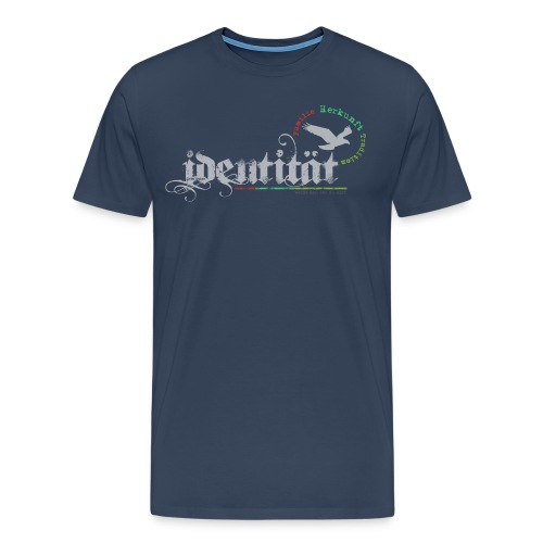 Identität png - Männer Premium T-Shirt