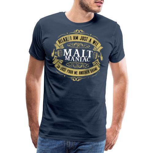 Malt Maniac - Männer Premium T-Shirt