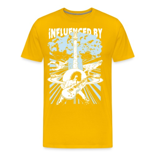 influencedby png - Herre premium T-shirt