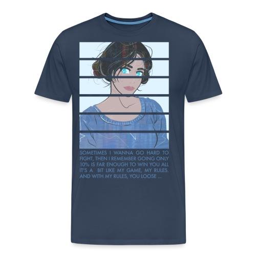 BLUE - T-shirt Premium Homme