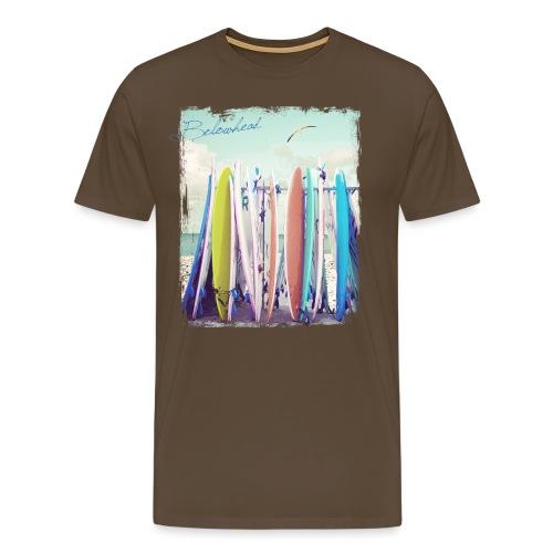 Surfs up - Männer Premium T-Shirt