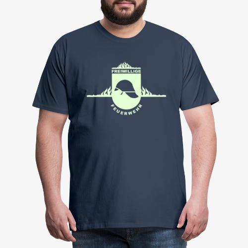 Leidenschaft Feuerwehr - Männer Premium T-Shirt