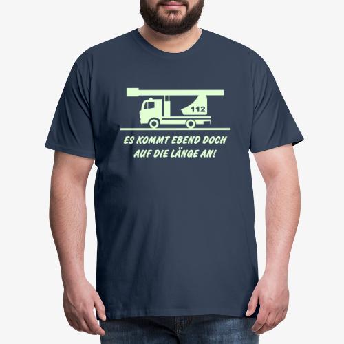 Es kommt auf die Länge an! - Männer Premium T-Shirt