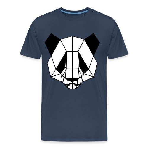 Squared Panda - T-shirt Premium Homme