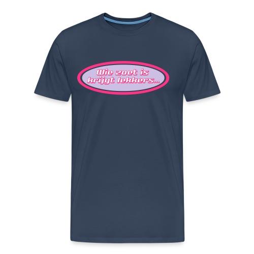 wie zoet is tritone - Mannen Premium T-shirt