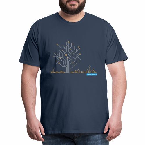 PCB Tree heller - Männer Premium T-Shirt