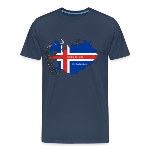 Four4Iceland Adventure - Männer Premium T-Shirt