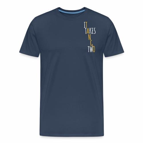It takes two to tango - Men's Premium T-Shirt