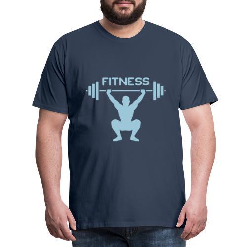 Fitness M - Maglietta Premium da uomo