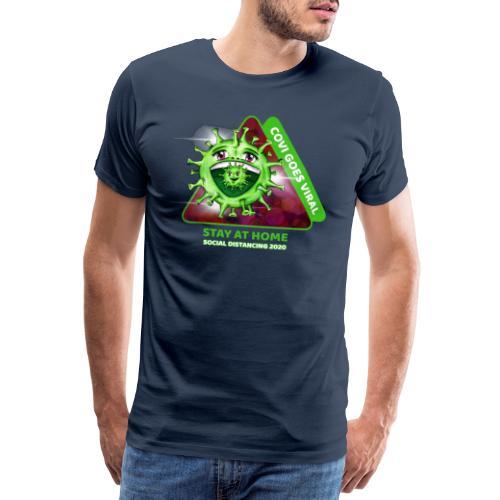 Covi goes Viral - Männer Premium T-Shirt