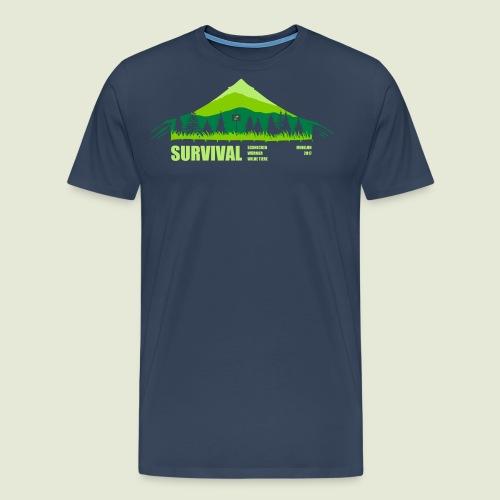 Zeltlager 2017 Motiv - Männer Premium T-Shirt