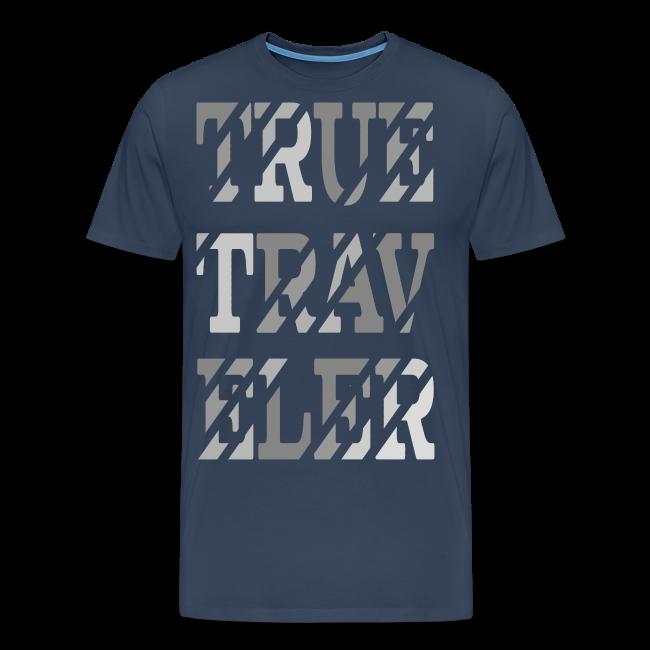 True Traveler Grey design