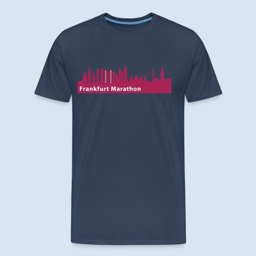 Frankfurt Marathon Skyline - Männer Premium T-Shirt