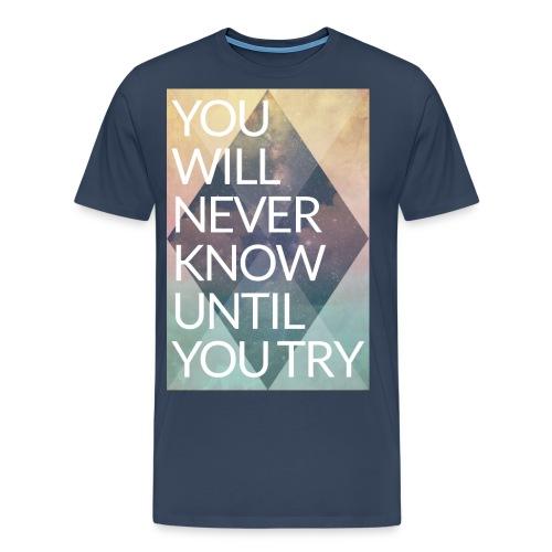 youtryfinal - Men's Premium T-Shirt