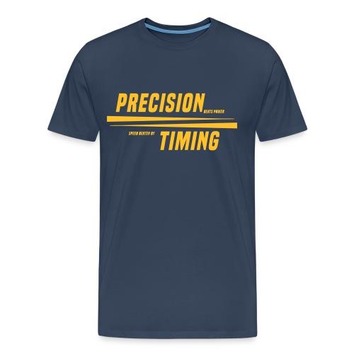 PRECISION & TIMING - Herre premium T-shirt
