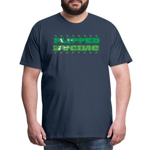 Flipped Racing, A-Plus No Logo - Men's Premium T-Shirt