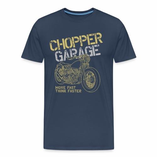 Chopper Garage - Männer Premium T-Shirt