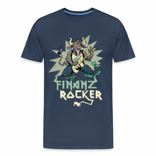 Finanzrocker Stier - Männer Premium T-Shirt