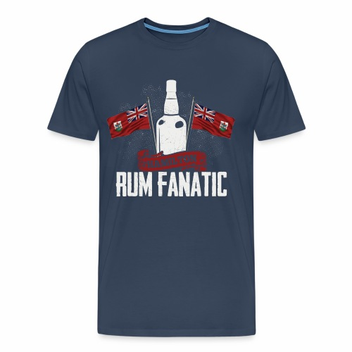 T-shirt Rum Fanatic - Hamilton, Bermuda - Koszulka męska Premium