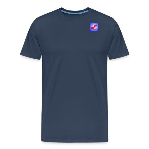 jt logo jpg - Mannen Premium T-shirt
