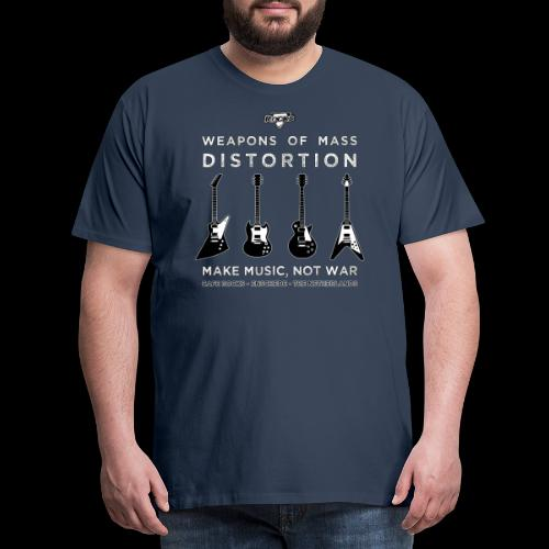 Weapons of mass distortio - Mannen Premium T-shirt
