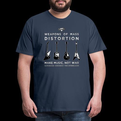 Weapons of mass distortio - Mannen Premium T-shirt
