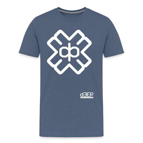 July D3EP Blue Tee - Men's Premium T-Shirt