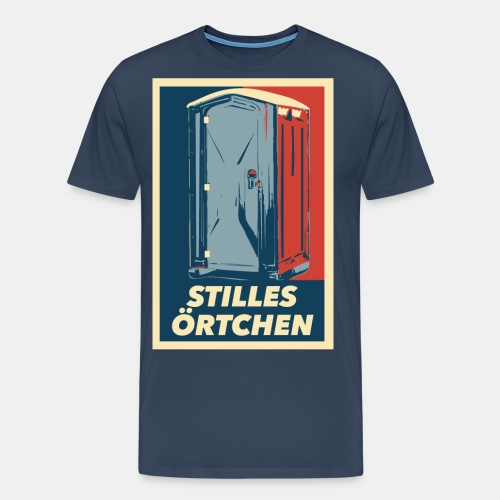 Stilles Örtchen - Männer Premium T-Shirt