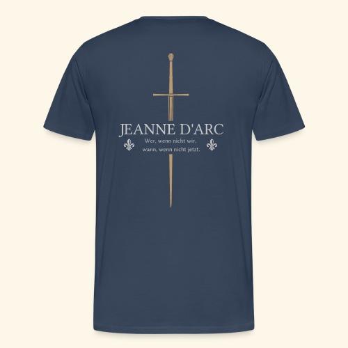 Jeanne d arc - Männer Premium T-Shirt