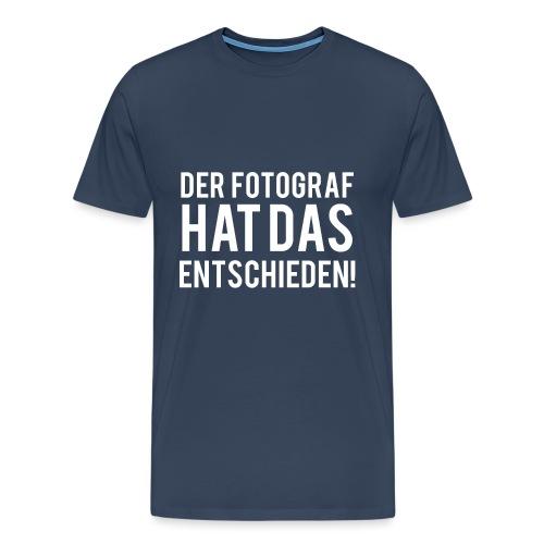 Entscheidung - Männer Premium T-Shirt