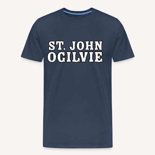 ST JOHN OGILVIE - Men's Premium T-Shirt
