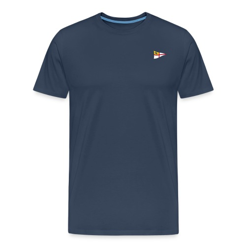 ROYC Logo 3 Farb Dunkel SIMPLE - Männer Premium T-Shirt