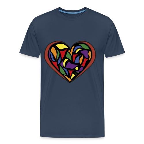 glass heart - Men's Premium T-Shirt